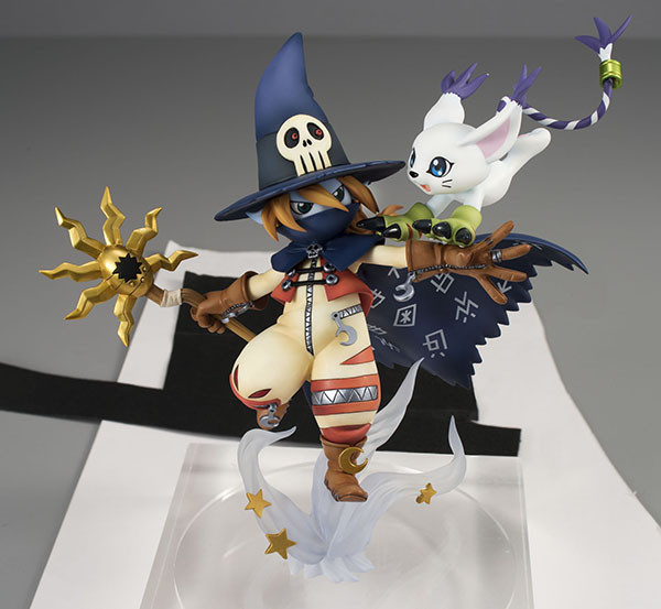 Wizardmon Gatomon figura GEM 1