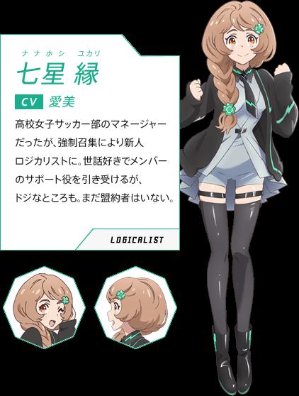Yukari Nanahoshi Luck and Logic