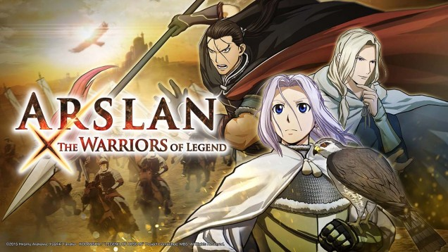 Arslan warriors of legend visual