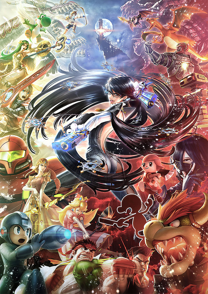 Bayonetta Super Smash Bros