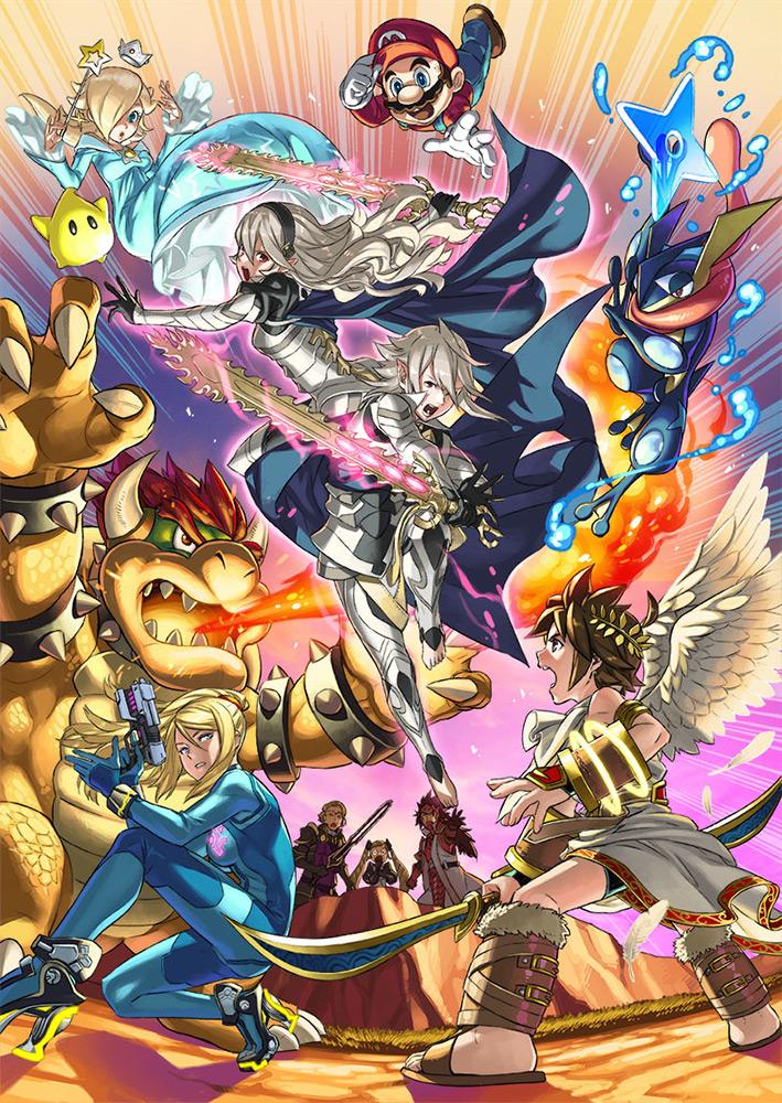Corrin Super Smash Bros