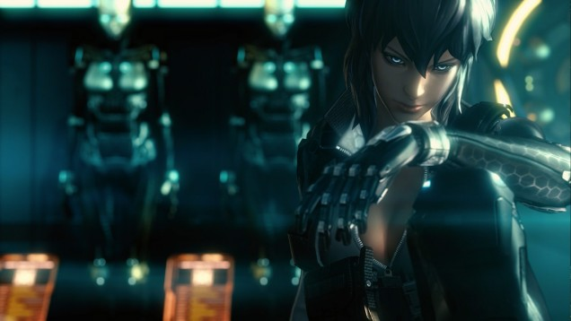 Ghost in the Shell Stand Alone Complex First Assault Motoko