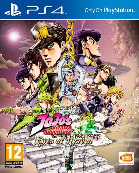 JoJo's Bizarre Adventure Eyes of Heaven PS4