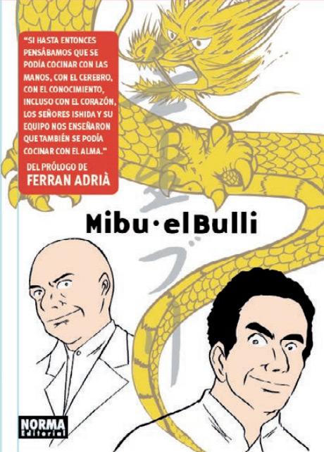 Manga Mibu - ElBulli de Norma Editorial