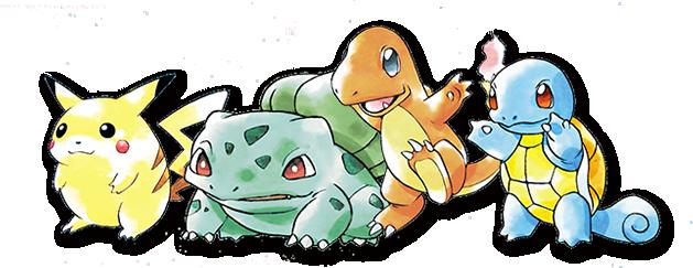 Pokemon classic designs