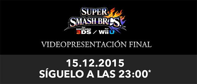 Videopresentación final de Super Smash Bros.
