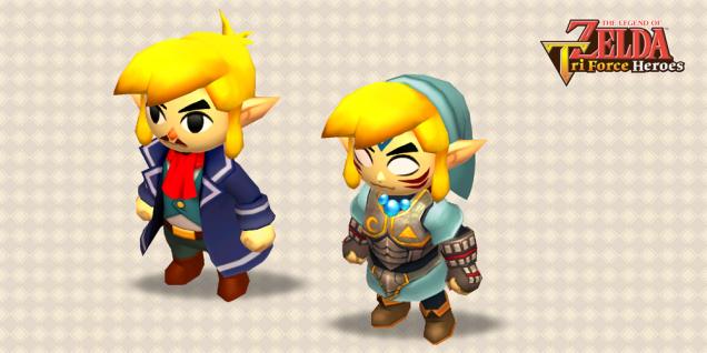Zelda Tri Force Heroes actualizacion