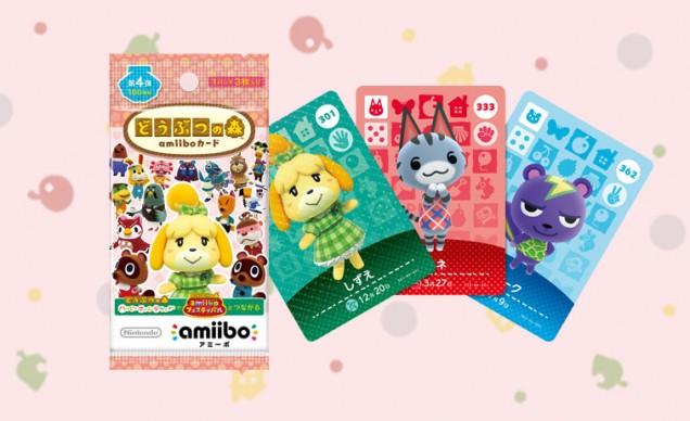 animal crossing amiibo tarjeta serie 4
