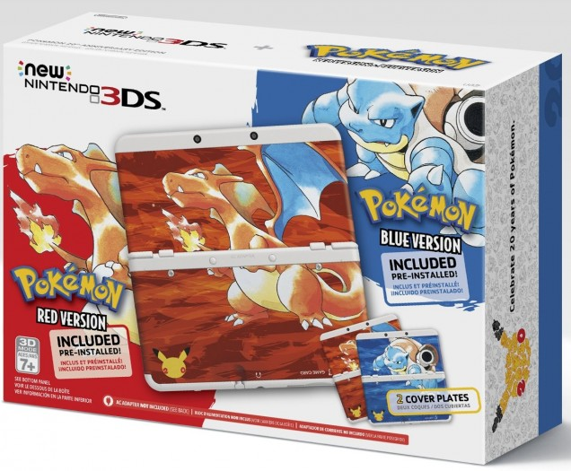 New 3DS Pokemon Red Blue