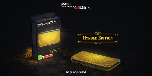 New 3DS XL edicion hyrule