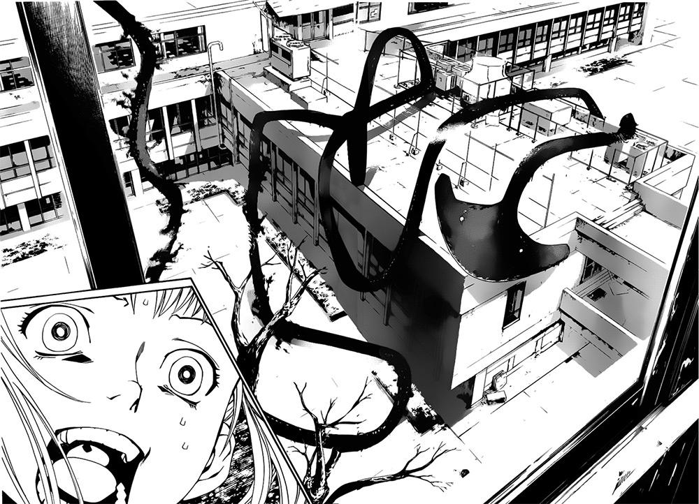 Viñeta del manga Noragami