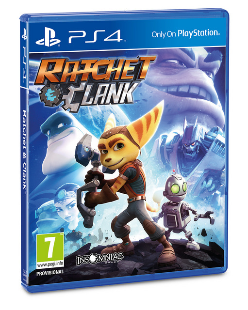 Ratchet Clank PS4 PAL Cover