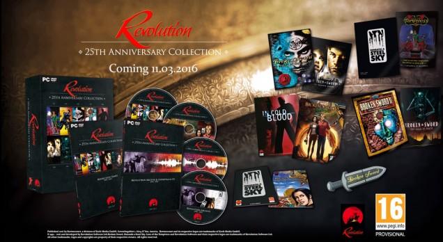 Revolution 25th Anniversary Collection