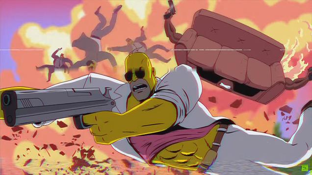 Los Simpson rinden tributo a Miami Vice