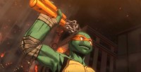 Michelangelo en Teenage Mutant Ninja Turtles: Turtles in Manhattan