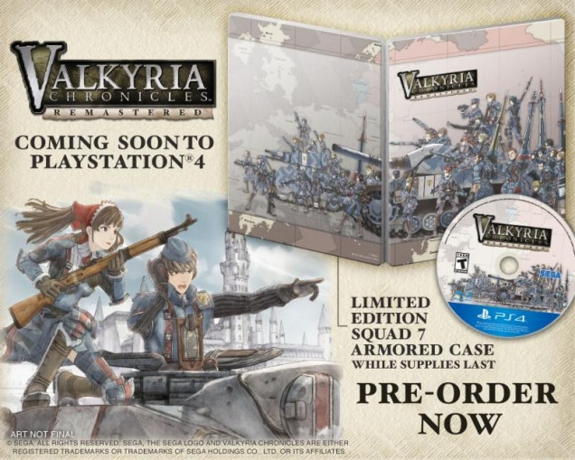 Valkyria Chronicles Remastered preorder