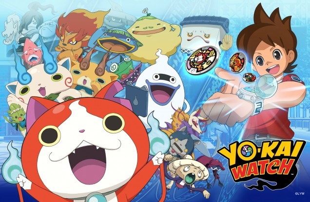Yo Kai Watch anime 2016
