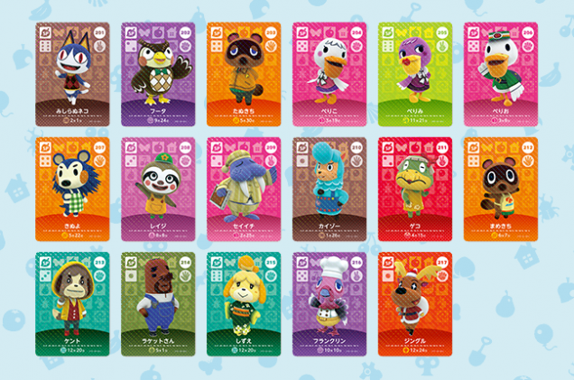animal crossing amiibo third wave