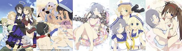 Senran Kagura Estival Versus Art Cards