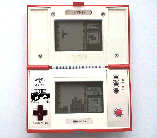Game & Watch de Tetris