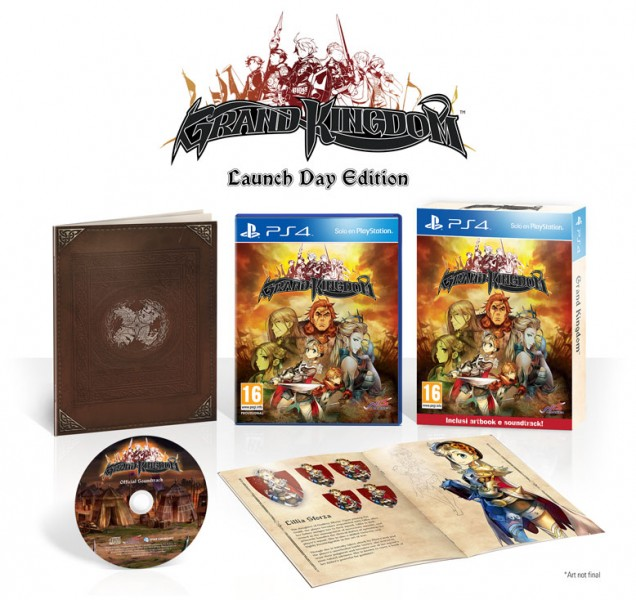 Grand Kingdom PAL PS4 day one