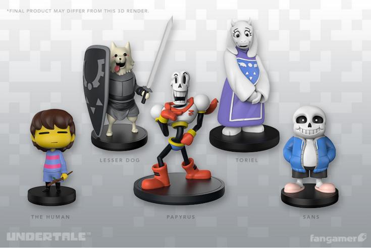 A través de Fangamer nos llegan las primeras figuras oficiales basadas en  los irrepetibles personajes de UNDERTALE 71f3d8fbbed
