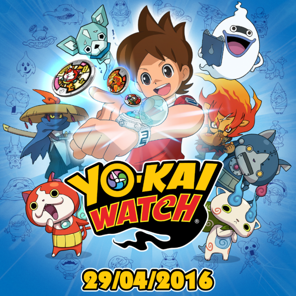 Yo Kai Watch 3DS europa