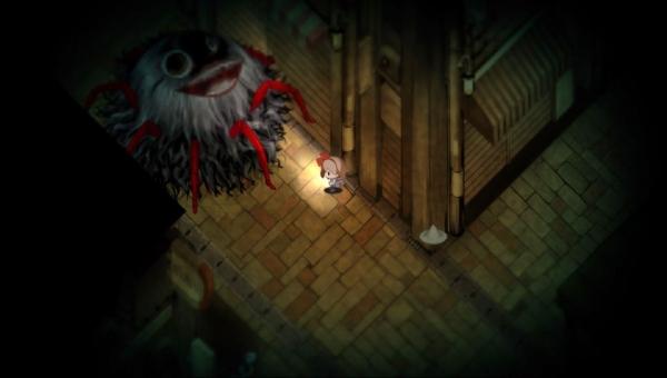 Yomawari gameplay