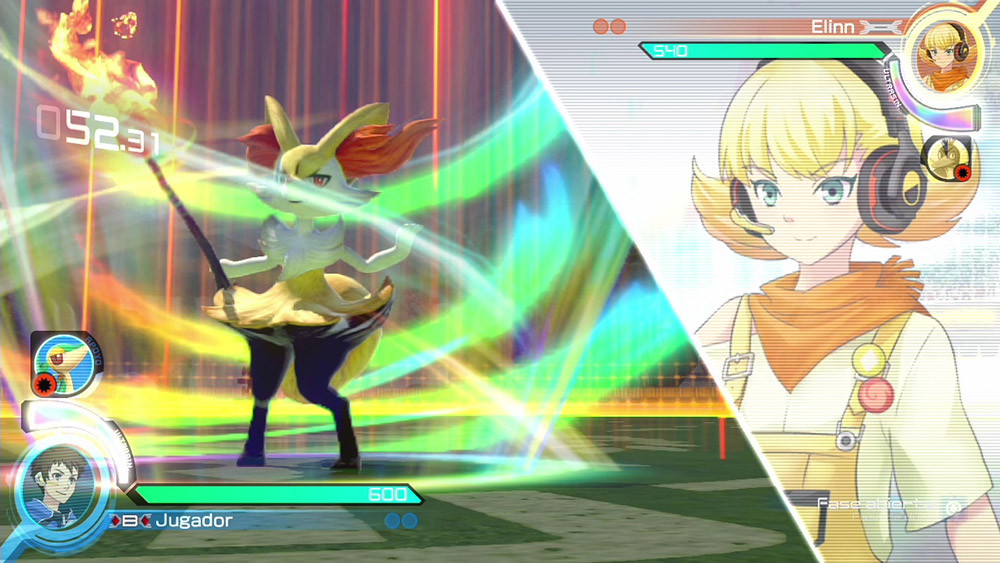 Braixen Pokken Tournament