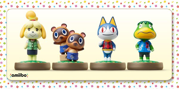amiibo animal crossing figuras