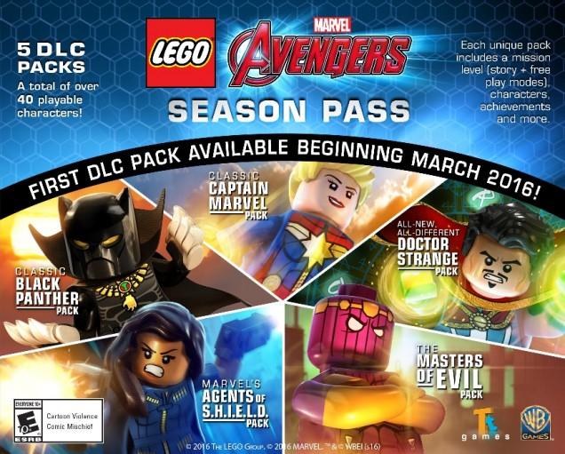 Lego Vengadores Pack