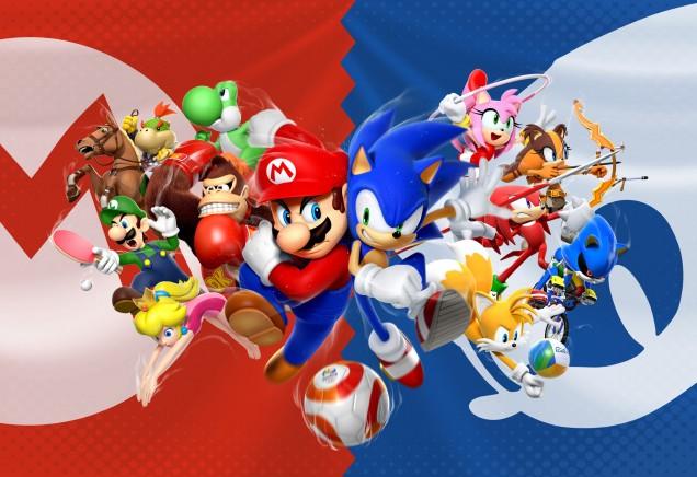 Mario Sonic JJOO Rio 2016 3DS Wii U