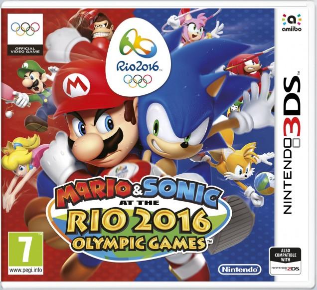Mario Sonic Rio 2016 PAL 3DS