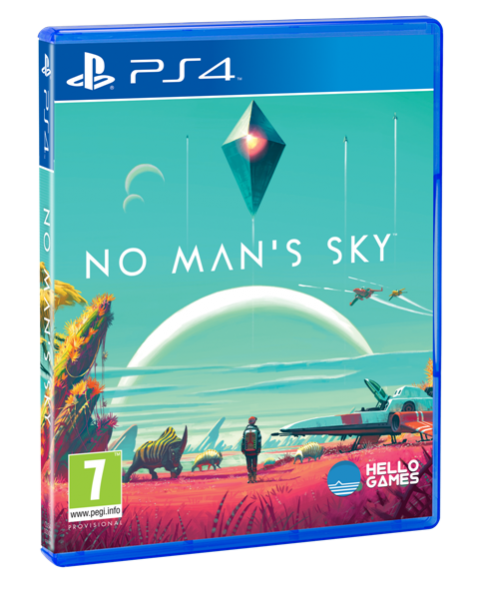 No Man's Sky night PAL cover