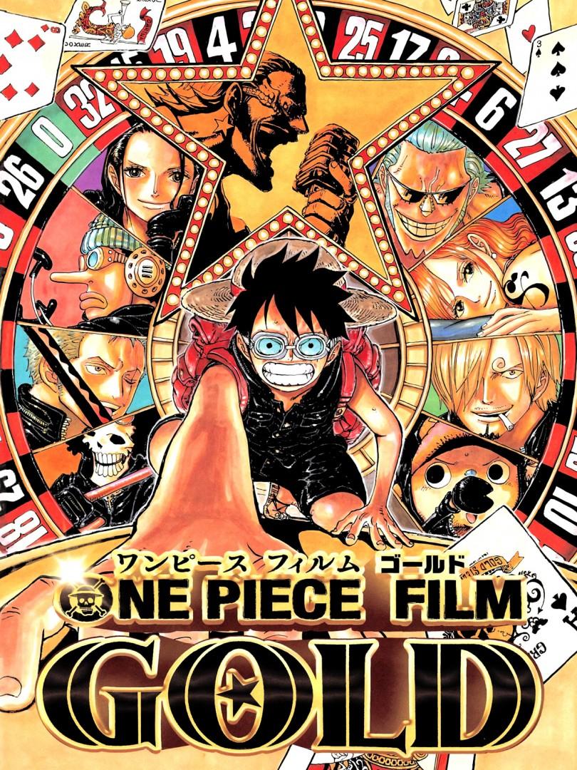One Piece Film Gold arte