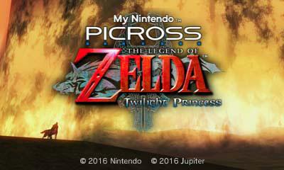 Picross Zelda Twilight Princess