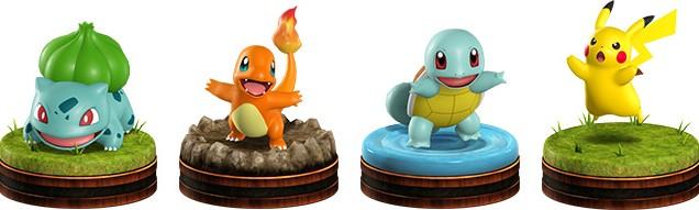 Pokemon Co Master figurines