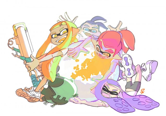 Splatoon un millon europa