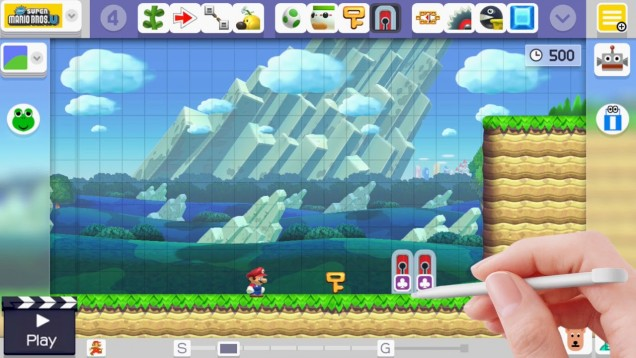 Super Mario Maker actualizacion marzo 2016
