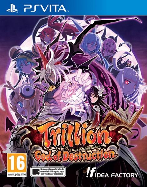 Trillion God of Destruction PAL Cover