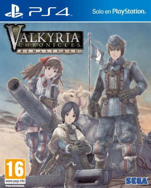 Valkyria Chronicles Remastered PAL