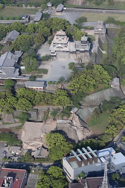 castillo kumamoto terremoto 2