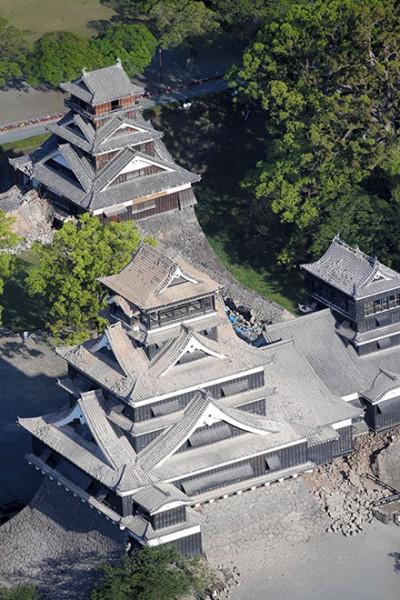 castillo kumamoto terremoto