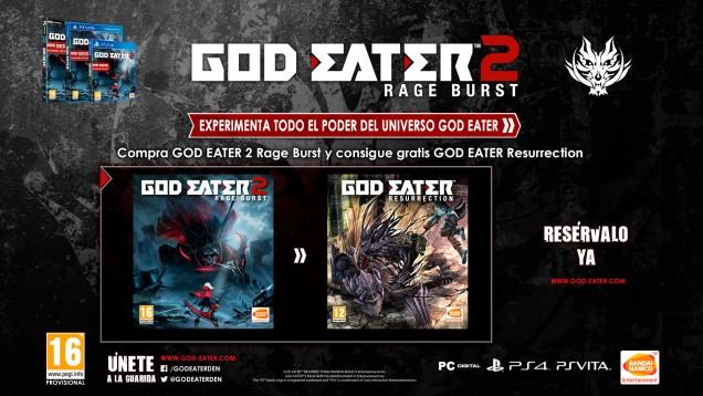God Eater 2 x 1