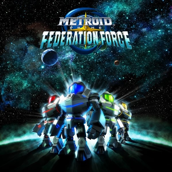 Metroid Prime Federation Force render