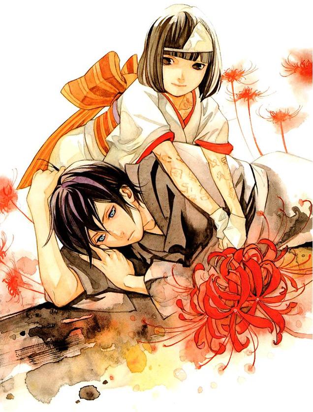 ilustración de Noragami