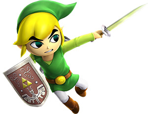 Toon Link Warriors Legends