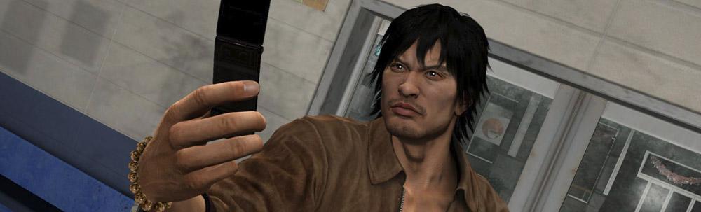 Yakuza 5 selfi