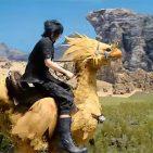 Chocobo ride Final Fantasy XV