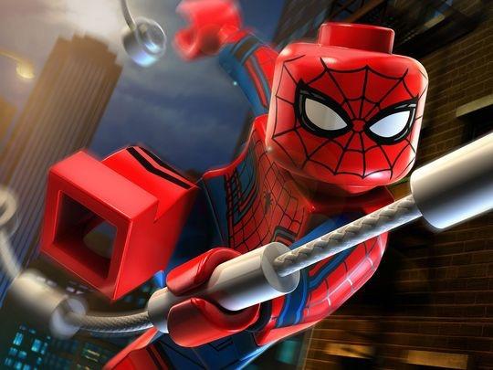 Lego Vengadores Spiderman